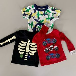 18-24 mo lot - 2 LS tees & 1 Onesie